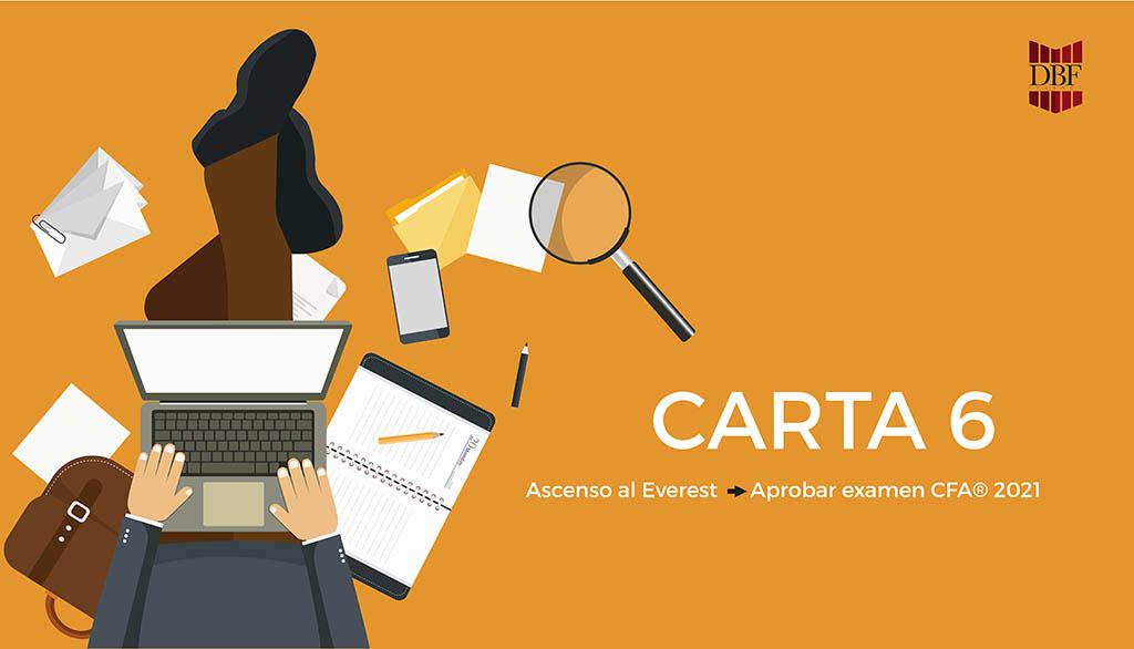carta 6 preparacion CFA 2021
